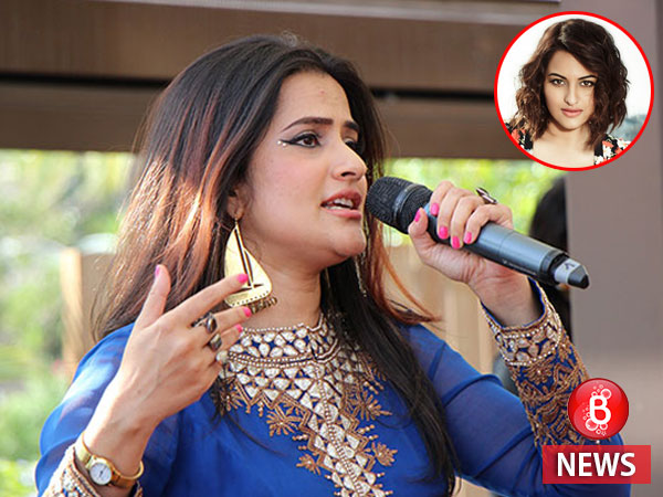 Sona Mohapatra takes a dig at Sonakshi Sinha again, post the lip-sync failure at Bieber concert