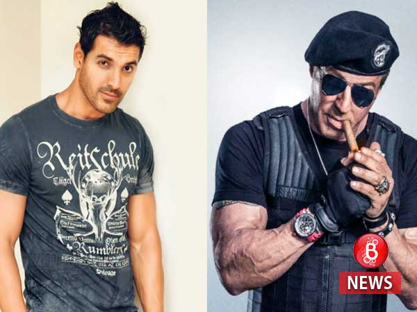 Nice! John Abraham roped in to play Sylvester Stallone in the desi version of 'The Expendables'