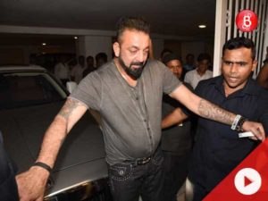 Watch: A drunk Sanjay Dutt did something unexpected at Karan Johar's birthday bash