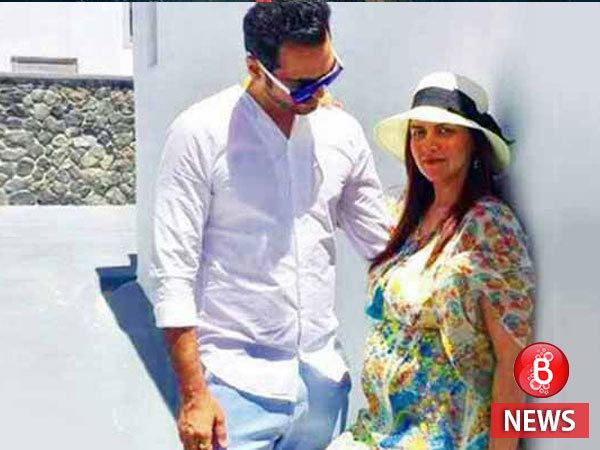 Picture alert! Esha Deol is babymooning with husband in Greece