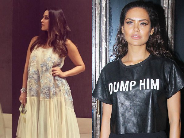 Wow! Neha Dhupia's dress and Esha Gupta's tee will never go out of fashion