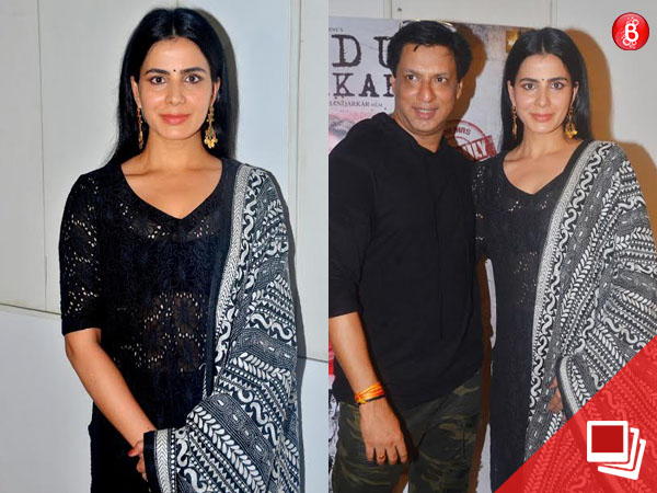 PICS: Kirti Kulhari and Madhur Bhandarkar launch a new song of 'Indu Sarkar'