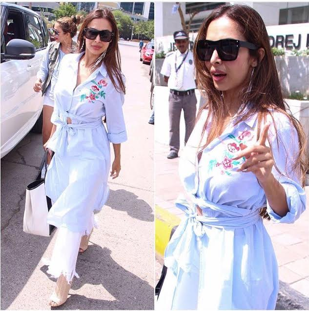 Be it gym or a sunny day, Malaika Arora Khan knows how to steal the thunder!