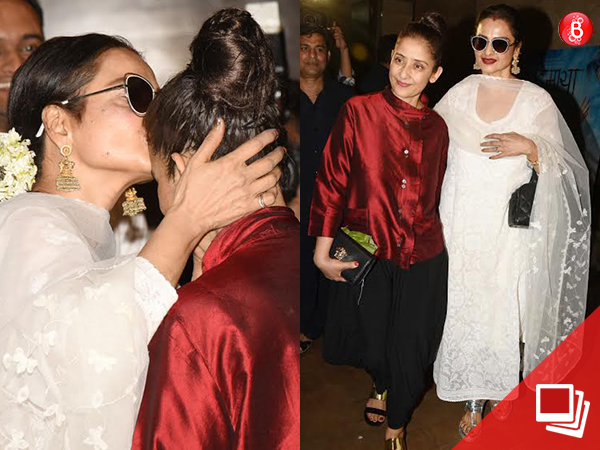'Dear Maya': Rekha bonds with Manisha Koirala during the special screening
