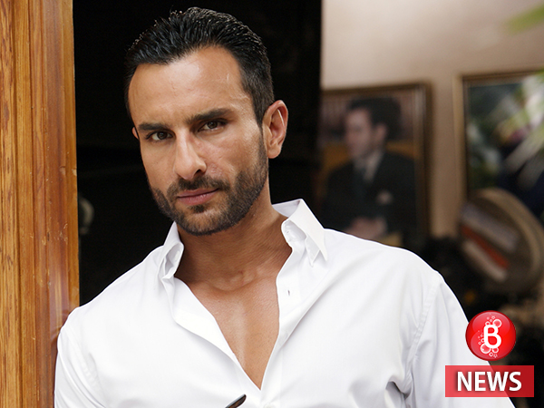 Saif Ali Khan gets inked for the second time, albeit with a twist