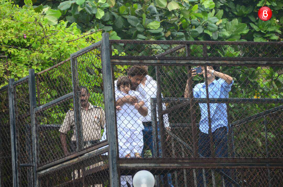 Shah Rukh Khan and AbRam