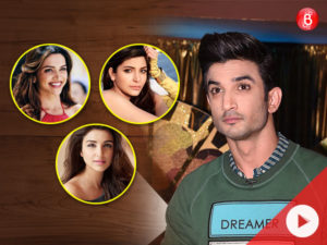 Say what! Sushant Singh Rajput wishes to have sibling wala 'Raabta' with these Bollywood divas