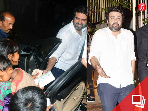 Long time, no see? Harman Baweja makes a rare appearance but wins heart with his good deed!