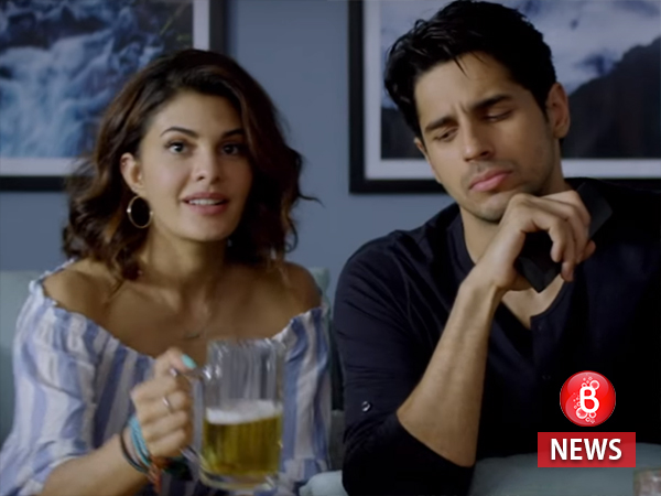Sidharth Malhotra and Jacqueline Fernandez ooze an electrifying chemistry in 'A Gentleman' poster