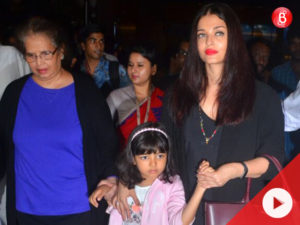 Watch: Aishwarya Rai Bachchan gets angry on media at the airport