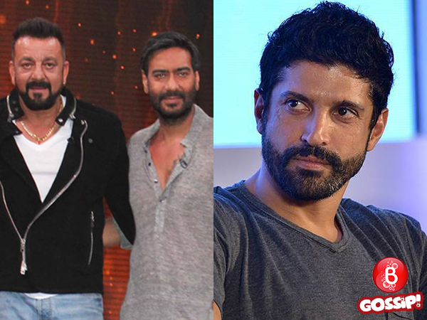 Sanjay Dutt and Farhan Akhtar to team up for Ajay Devgn's next production venture?