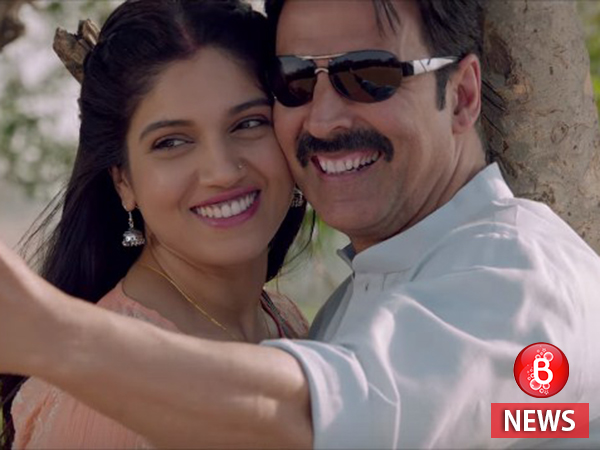 Bhumi Pednekar shares her experience of working with Akshay Kumar