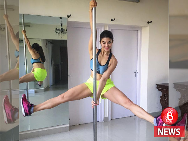 Here's the teaser of Jacqueline's pole dancing from a new song of 'A Gentleman'