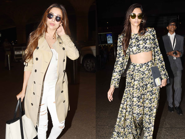 On-flight fashion this week: Best dressed Bollywood stars at the airport