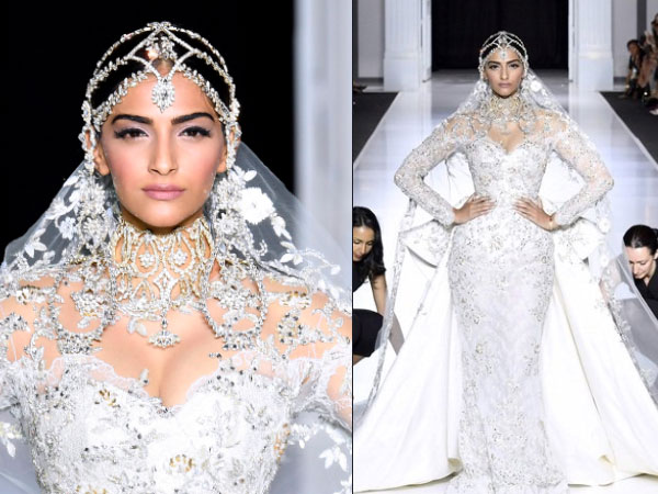 Sonam Kapoor personifies a Moroccan Bride as she turns muse for Ralph & Russo