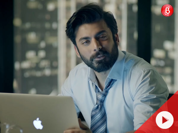 Video alert! Fawad Khan's act in this new commercial is all hearts and emotions!