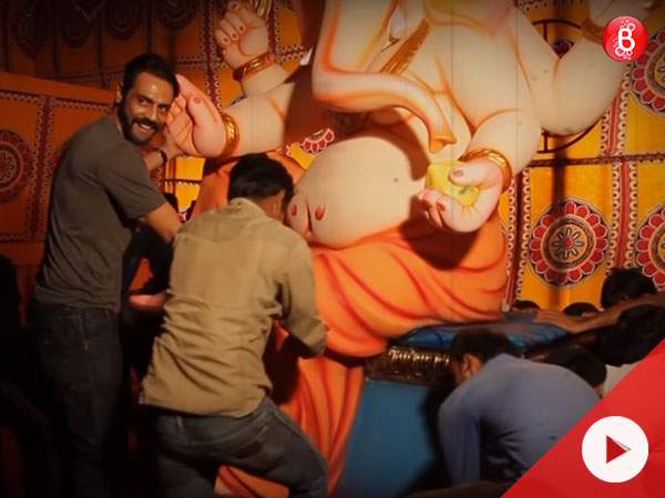 Watch the making of 'Aala Re Aala Ganesha' song from 'Daddy' here