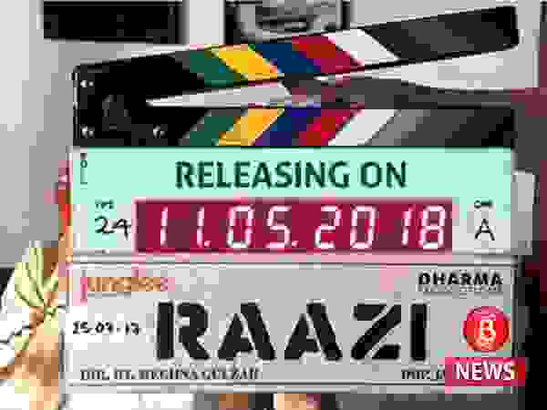Release date of Alia Bhatt and Vicky Kaushal-starrer 'Raazi' is out!