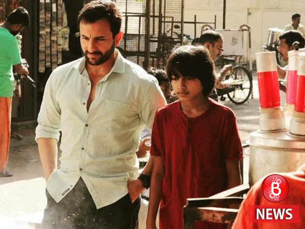 The first poster of Saif Ali Khan-starrer 'Chef' looks heart-warming