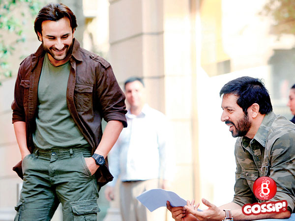 Saif Ali Khan has no time for Kabir Khan?