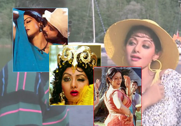 9 iconic Sridevi songs that prove why she was called the first female superstar of India