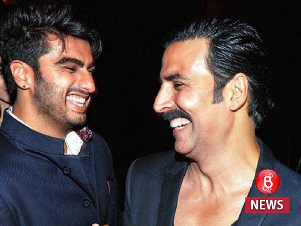 Arjun refutes rumours of Akshay being unhappy with him for 'Namastey Canada'