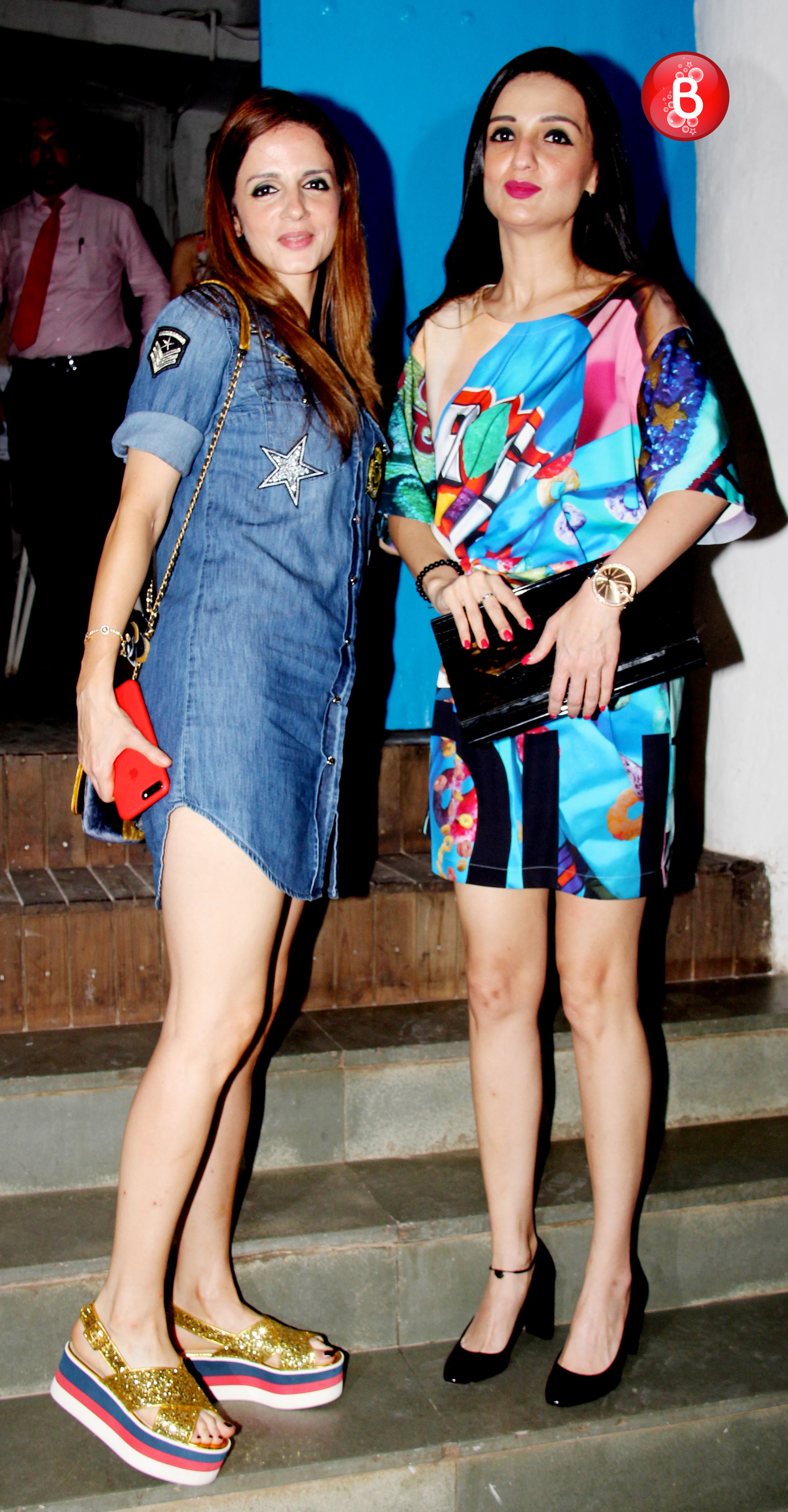 Sussanne Khan and Anu Dhawan