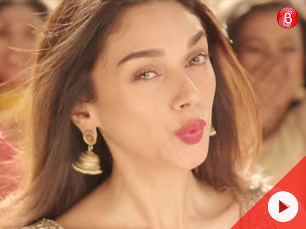 Aditi Rao Hydari in Bhoomi song