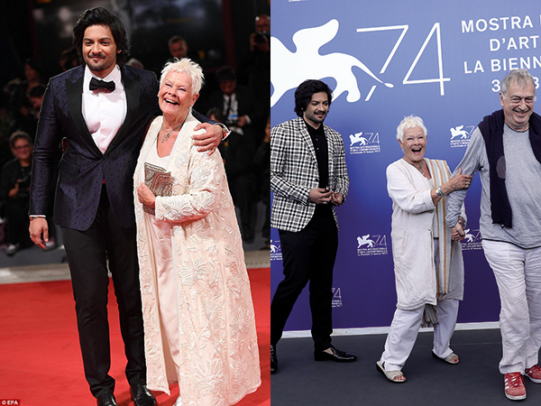 Ali Fazal looked his dapper best at the World Premiere of 'Victoria & Abdul'