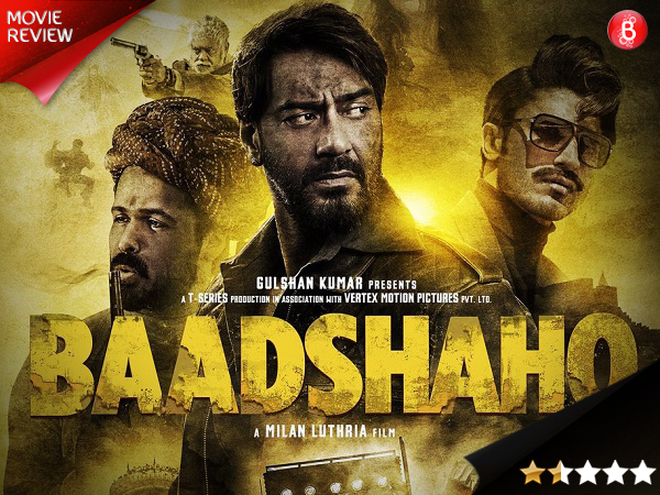 Baadshaho movie review: This period drama might make you yell 'period'!