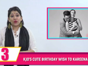 KJo wishes to have a sibling like Kareena. Watch Bubble Bulletin