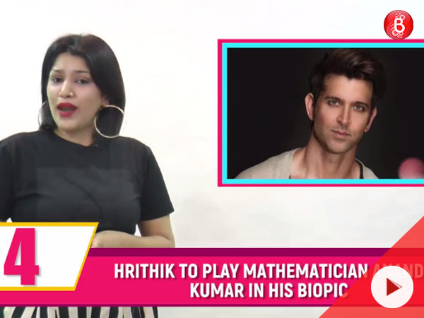 Hrithik signs career's first biopic! Watch tonight's Bubble Bulletin