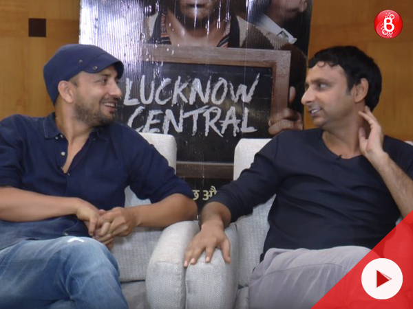 Deepak Dobriyal and Inaamulhaq promotes 'Lucknow Central'