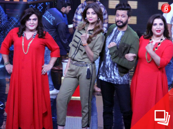 PICS: Farah Khan, Shilpa Shetty and others at the 'Lip Sing Battle' in YRF Studios