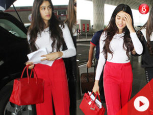 WATCH! The cost of Jhanvi's track pants can fund your next GOA trip!