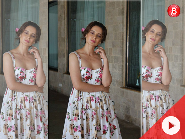 Watch: Kangana Ranaut's printed dress is expensive AF!