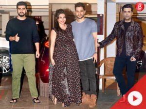 Karan Johar, Arjun, Karisma, Soha and others were their stylish best at Kareena's birthday