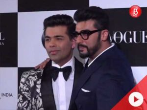 Watch: Arjun's fun banter with KJo at Vogue Women of the Year Awards 2017