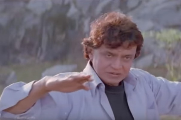 Learn to defy gravity from Mithun Da!