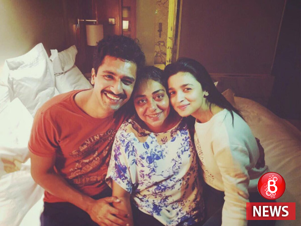 It's a wrap for Alia Bhatt and Vicky Kaushal's 'Raazi'