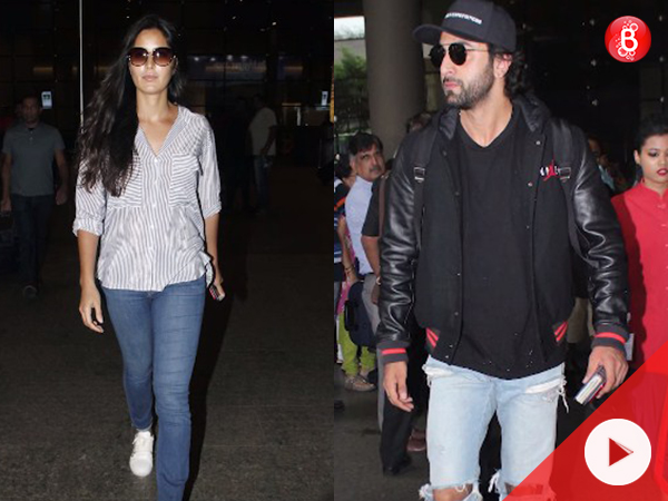 WATCH: Ranbir Kapoor and Katrina Kaif are spotted at airport, but separately