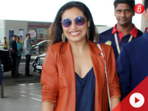 Watch: Rani was recently spotted at airport and she looked as fresh as a daisy