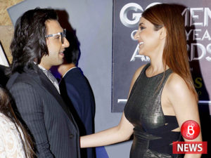 Ranveer Singh and Anushka Sharma at GQ Awards ceremony
