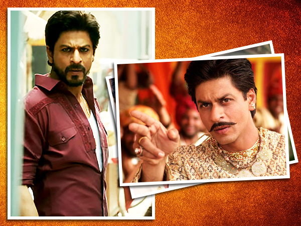 From 'Paheli' to 'Raees', Shah Rukh Khan's tryst with facial fuzz has left us amazed