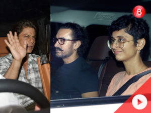 WATCH! Ranbir celebrates birthday with Shah Rukh, Aamir and others