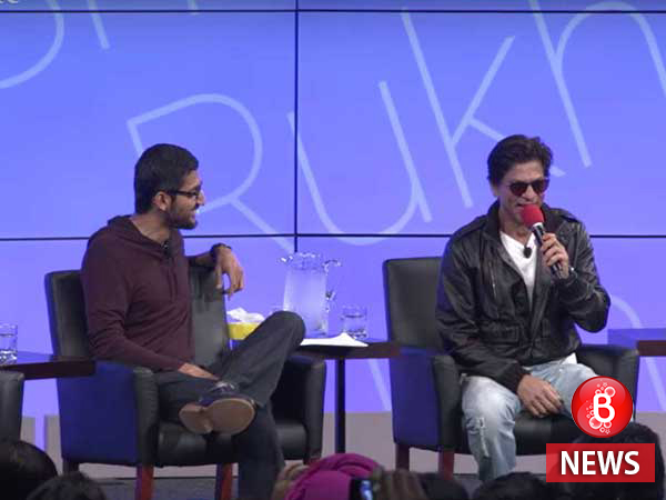 SRK and Google CEO Sundar Pichai have a delightful conversation