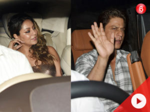 SRK and Aamir grace Ranbir's birthday bash with their beautiful wives