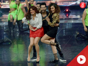 WATCH: Varun, Taapsee and Jacqueline promote 'Judwaa 2' on 'Dance Plus 3'
