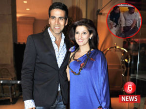 akshay kumar and twinkle, dimple and sunny