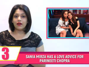 Parineeti just received a love suggestion! Watch tonight's Bubble Bulletin